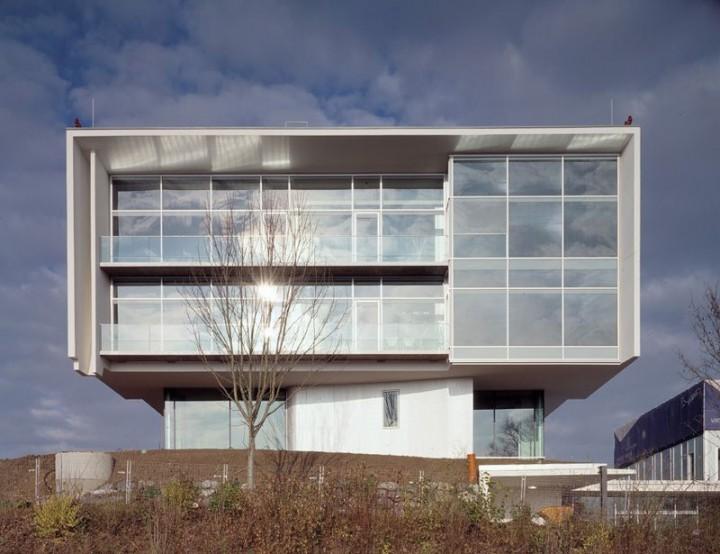 Engineering Gebäude Fassade