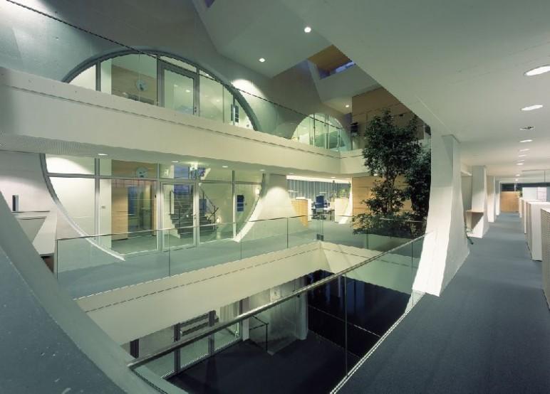 Engineering Gebäude Innenaufnahme