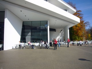 Linde Agora Cafeteria Freibereich Ostseite