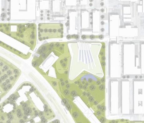 BASF_Business Center D105_Lageplan mit Dachaufsicht