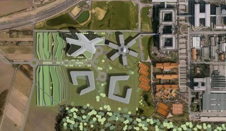 SAP Campus II Walldorf Lageplan 1