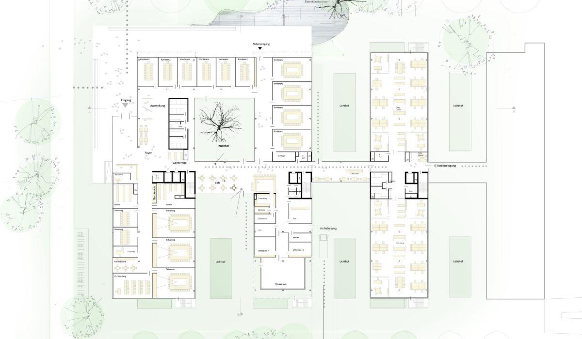 Freudenberg_Bürogebäude_Industriepark_Weinheim_Grundriss_EG