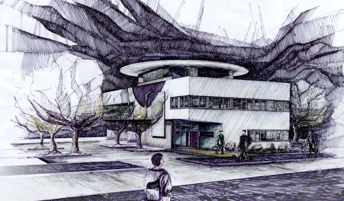 Bürohaus-Fa-Büro-TEC-Skizze