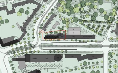 Bürohaus-Karlsruhe-HTP-Gmb-Lageplan