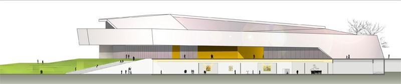 Kultur und Kongreßzentrum Würth, Ansicht