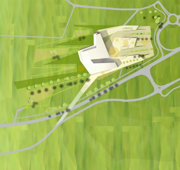 Kultur und Kongreßzentrum Würth, Lageplan