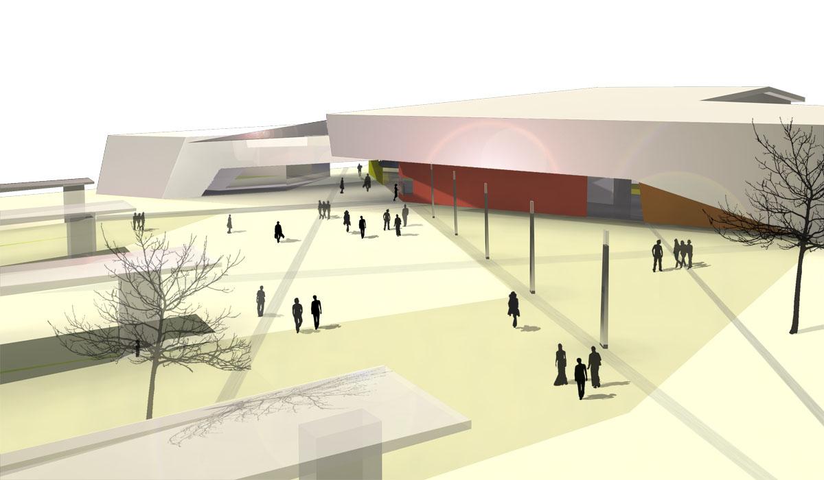 kultur und kongresszentrum w rth architekturb ro kergassner. Black Bedroom Furniture Sets. Home Design Ideas