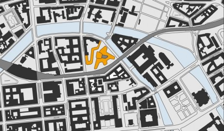 Museumshöfe Berlin, Lageplan