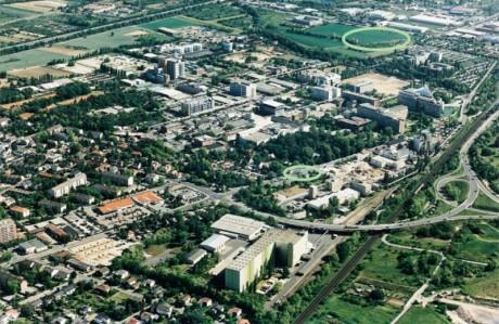 SSC Boehringer Ingelheim Luftbild