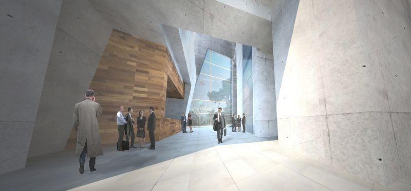 ThyssenKrupp Testturm Innenraumperspektive
