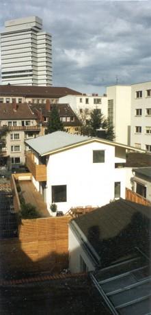 Neubau Wohnhaus Boßert, Hotelblick