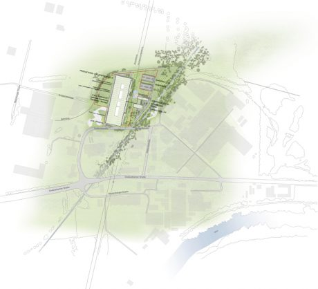 Lageplan Linde Hydraulics GmbH Campus Aschaffenbugr