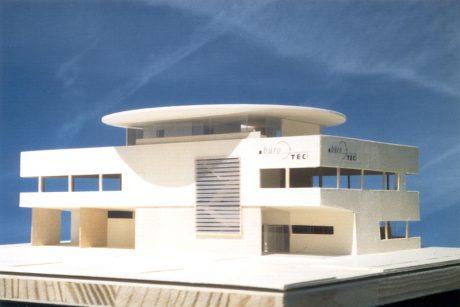 Bürohaus Fa. Büro - TEC, Modell