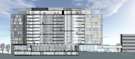 SAP Campus II Walldorf Querschnitt 1