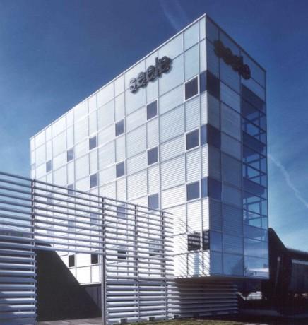 Bürohaus _Seele_Fassade Seitenansicht