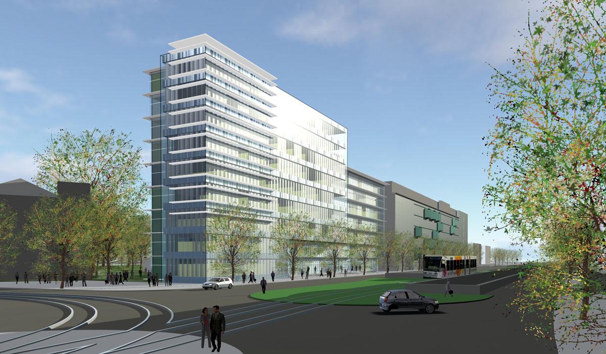 Bürohaus-Karlsruhe-HTP-Gmb-Visualisierung