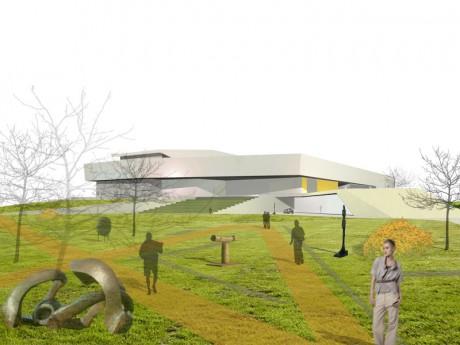 Kultur und Kongreßzentrum Würth, Visualisierung