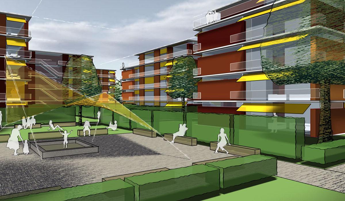 Mehrfamilienhäuser-SchaPa-Perspektive