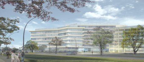 VW Wolfsburg Bürogebäude und Parkhaus