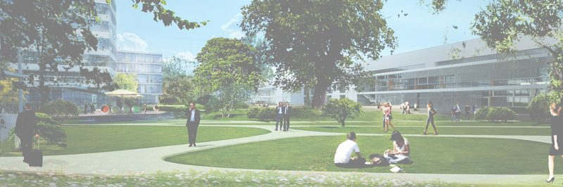 Landschaftspark grüner Campus Linde Hydraulics GmbH