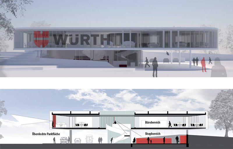 Würth Verkaufsniederlassung Gaisbach