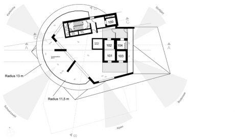 ThyssenKrupp Testturm Grundriss Aussichtsplattform